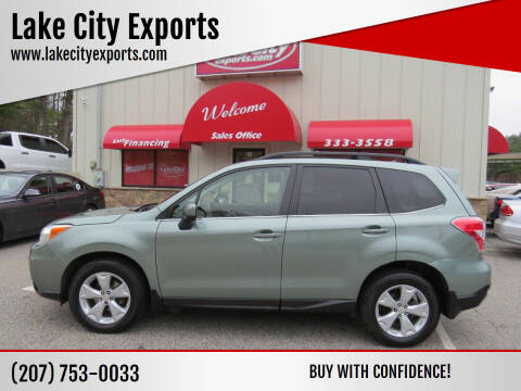 2015 Subaru Forester for sale at Lake City Exports - Lewiston in Lewiston ME