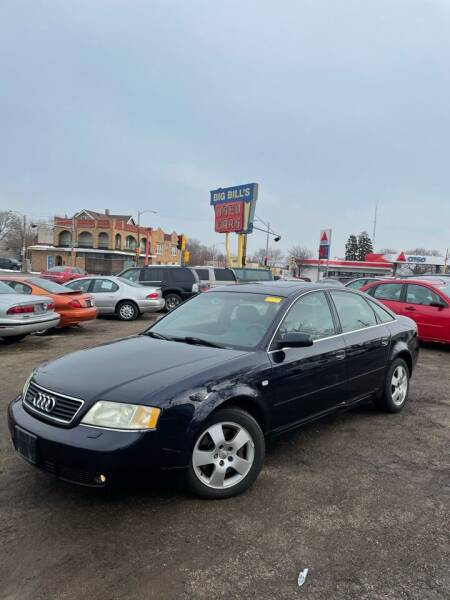 2001 Audi A6 for sale at Big Bills in Milwaukee WI