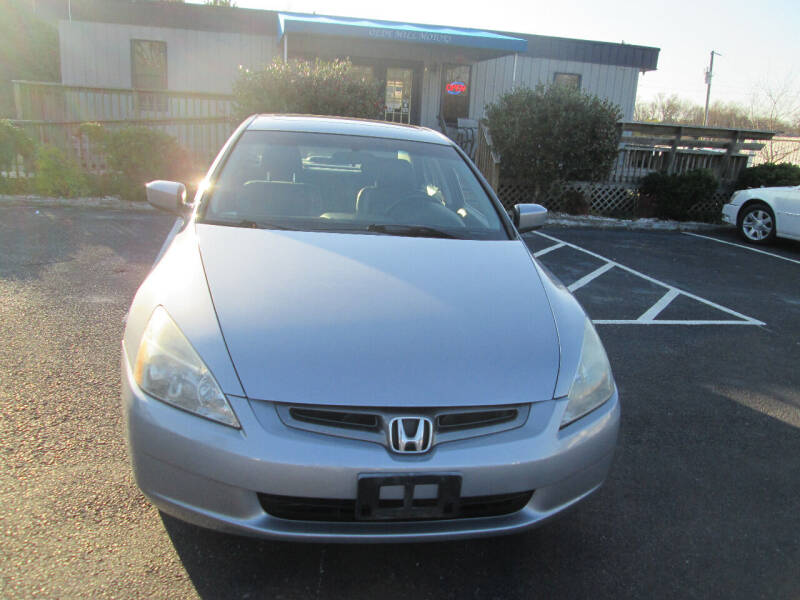 2003 Honda Accord for sale at Olde Mill Motors in Angier NC