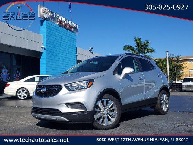 2019 Buick Encore for sale at Tech Auto Sales in Hialeah FL