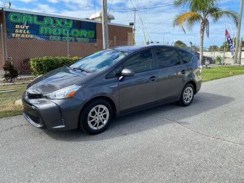 2015 Toyota Prius v for sale at Galaxy Motors Inc in Melbourne FL