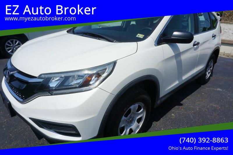 2016 Honda CR-V for sale at EZ Auto Broker in Mount Vernon OH
