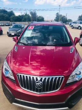 2015 Buick Encore for sale at Pioneer Auto in Ponca City OK