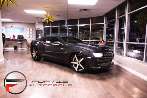 2014 Chevrolet Camaro for sale at Fortis Auto Group in Las Vegas NV