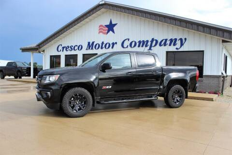 2021 Chevrolet Colorado for sale at Cresco Motor Company in Cresco IA
