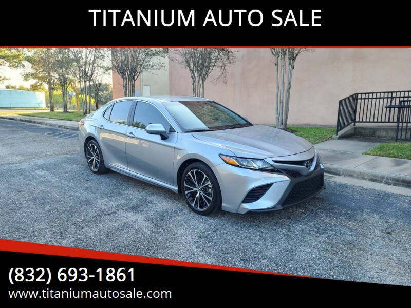 2020 Toyota Camry for sale at TITANIUM AUTO SALE in Houston TX