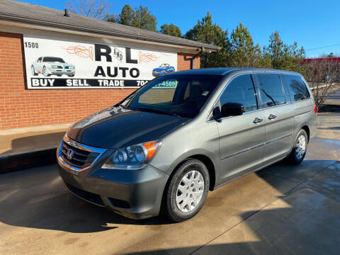 2008 Honda Odyssey for sale at R & L Autos in Salisbury NC