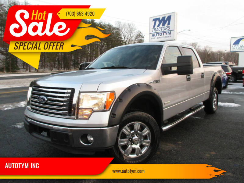 2011 Ford F-150 for sale at AUTOTYM INC in Fredericksburg VA