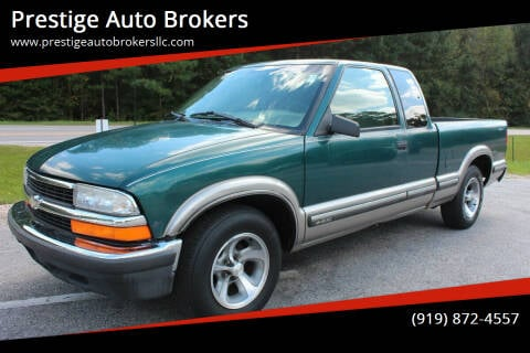 1998 Chevrolet S-10 for sale at Prestige Auto Brokers in Raleigh NC