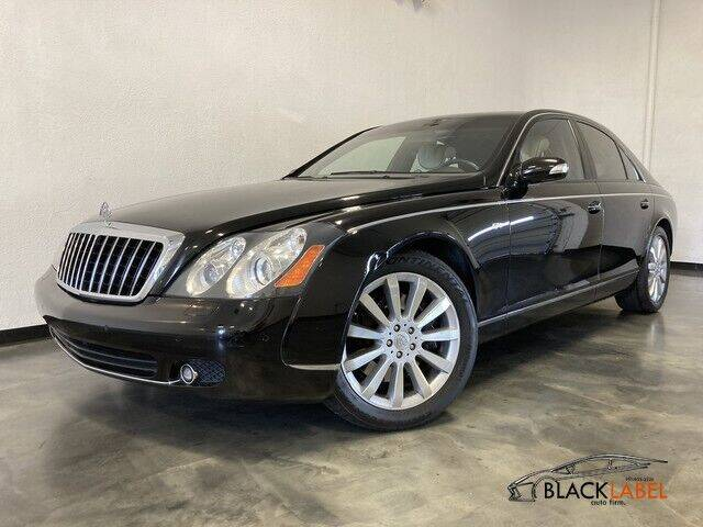 2006 Maybach 57 for sale at BLACK LABEL AUTO FIRM in Riverside CA
