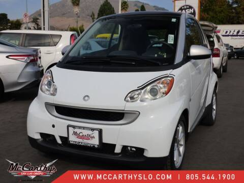 2010 Smart fortwo for sale at McCarthy Wholesale in San Luis Obispo CA