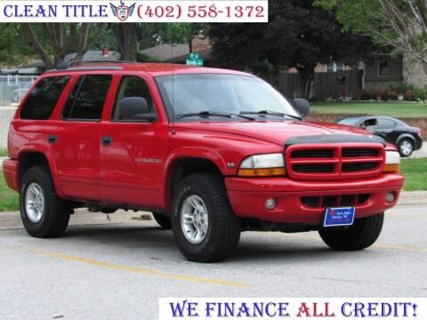 1998 Dodge Durango for sale at NY AUTO SALES in Omaha NE