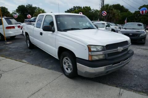 2003 Chevrolet Silverado 1500 for sale at J Linn Motors in Clearwater FL