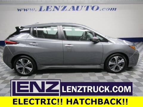 2020 Nissan LEAF for sale at LENZ TRUCK CENTER in Fond Du Lac WI