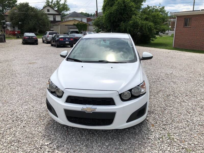2014 Chevrolet Sonic for sale at ADKINS PRE OWNED CARS LLC in Kenova WV
