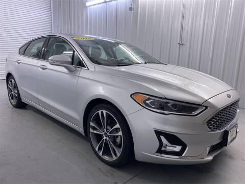 2019 Ford Fusion for sale at JOE BULLARD USED CARS in Mobile AL