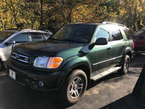 2003 Toyota Sequoia for sale at BORGES AUTO CENTER, INC. in Taunton MA