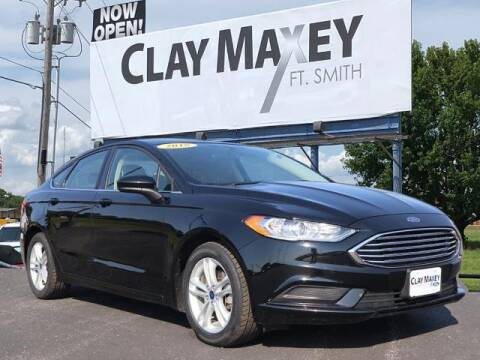 2018 Ford Fusion for sale at Clay Maxey Fort Smith in Fort Smith AR