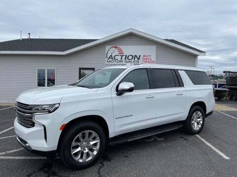 2021 Chevrolet Suburban for sale at Action Motor Sales in Gaylord MI