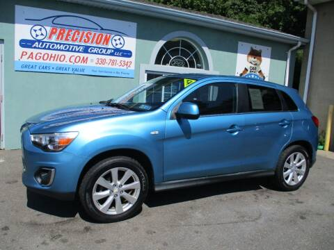 2013 Mitsubishi Outlander Sport for sale at Precision Automotive Group in Youngstown OH