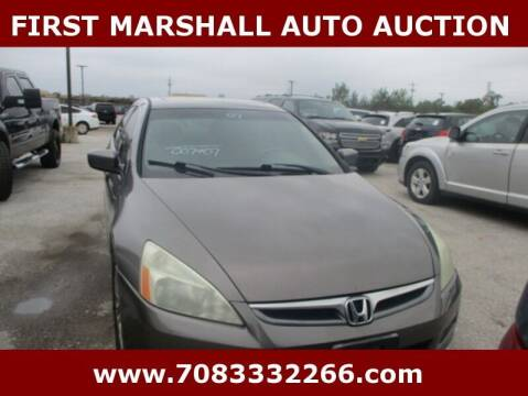 2007 Honda Accord for sale at First Marshall Auto Auction in Harvey IL