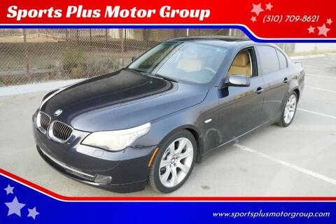 2009 BMW 5 Series for sale at Sports Plus Motor Group LLC in Sunnyvale CA