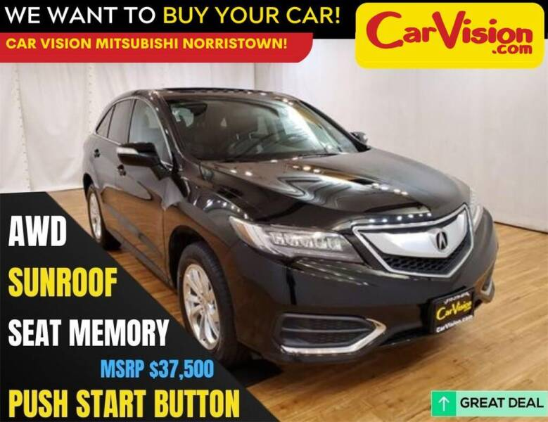 2018 Acura RDX for sale at Car Vision Mitsubishi Norristown in Trooper PA