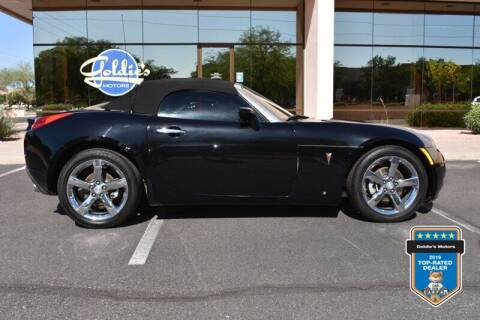 2008 Pontiac Solstice for sale at GOLDIES MOTORS in Phoenix AZ