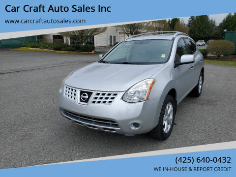 2010 Nissan Rogue for sale at Car Craft Auto Sales Inc in Lynnwood WA