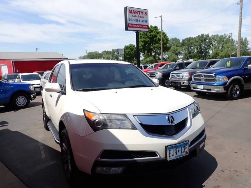 2011 Acura MDX for sale at Marty's Auto Sales in Savage MN