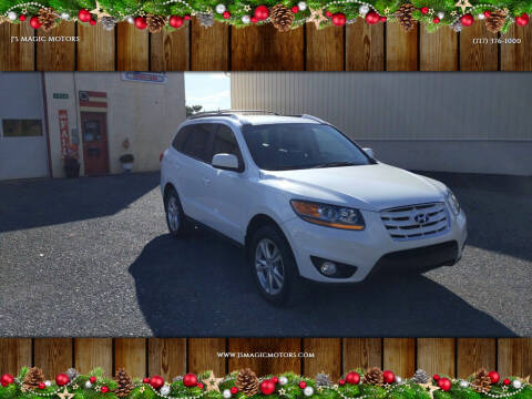 2011 Hyundai Santa Fe for sale at J'S MAGIC MOTORS in Lebanon PA