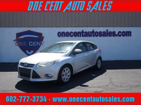 2012 Ford Focus for sale at One Cent Auto Sales in Glendale AZ