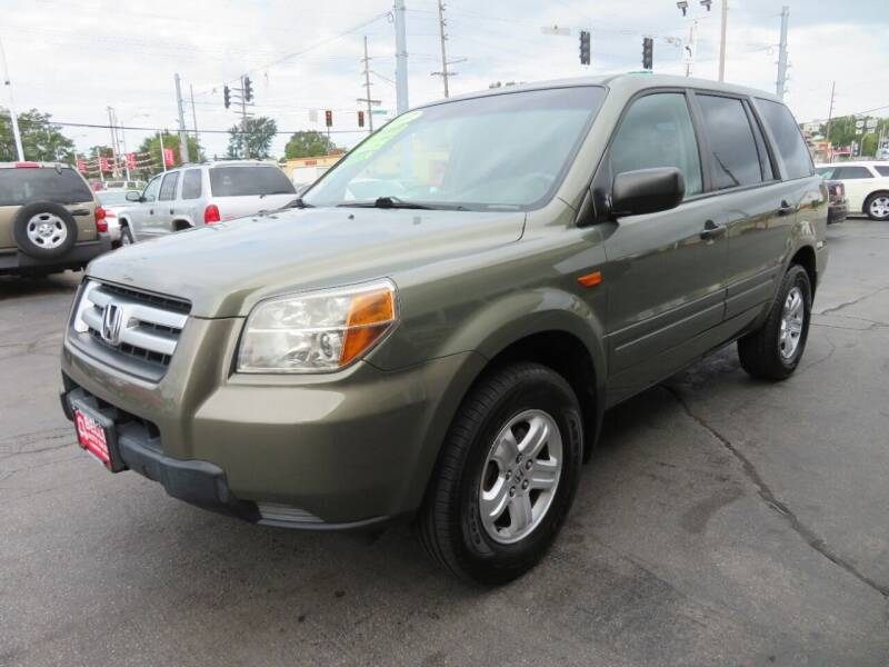 2007 Honda Pilot for sale at Bells Auto Sales in Hammond IN