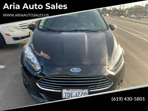 2014 Ford Fiesta for sale at Aria Auto Sales in El Cajon CA