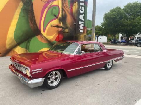 1963 Chevrolet Impala for sale at BIG BOY DIESELS in Ft Lauderdale FL