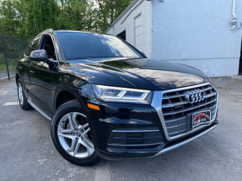 2018 Audi Q5 for sale at JerseyMotorsInc.com in Teterboro NJ