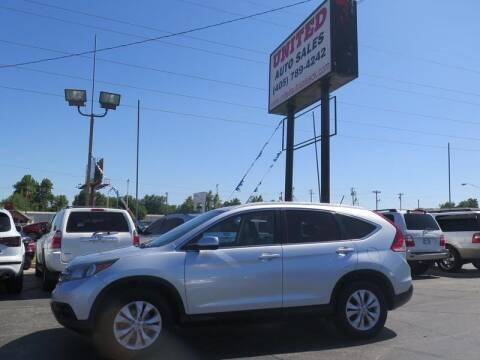 2013 Honda CR-V for sale at United Auto Sales in Oklahoma City OK