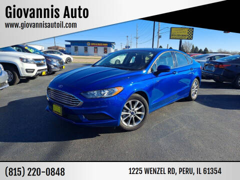 2017 Ford Fusion for sale at Giovannis Auto in Peru IL