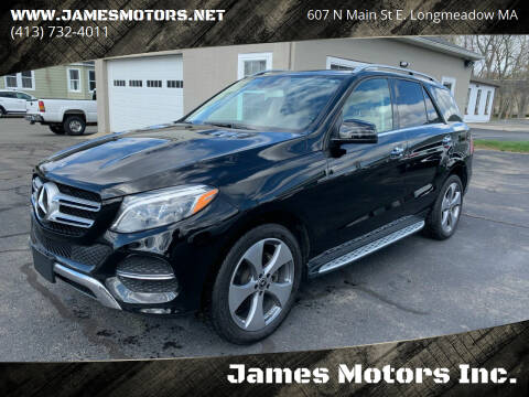 2018 Mercedes-Benz GLE for sale at James Motors Inc. in East Longmeadow MA
