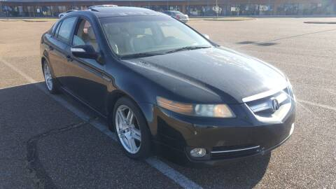 2007 Acura TL for sale at The Auto Toy Store in Robinsonville MS
