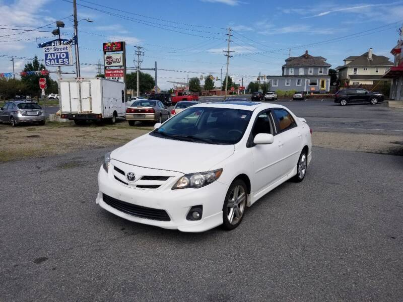 2013 Toyota Corolla for sale at 25TH STREET AUTO SALES in Easton PA