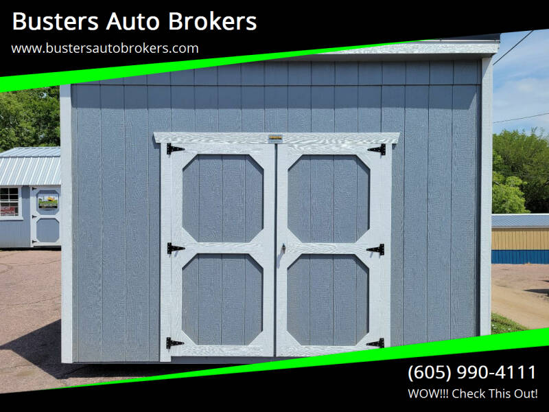 2021 Old Hickory Building 8 X 12 Studio Shed for sale at Busters Auto Brokers in Mitchell SD