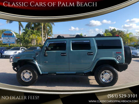 2007 HUMMER H2 for sale at Classic Cars of Palm Beach in Jupiter FL