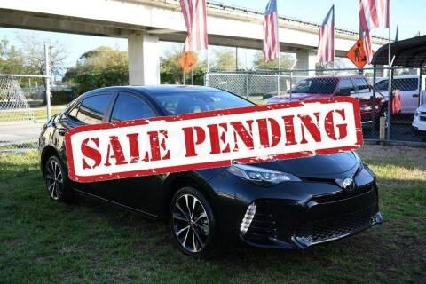 2018 Toyota Corolla for sale at STS Automotive - Miami, FL in Miami FL
