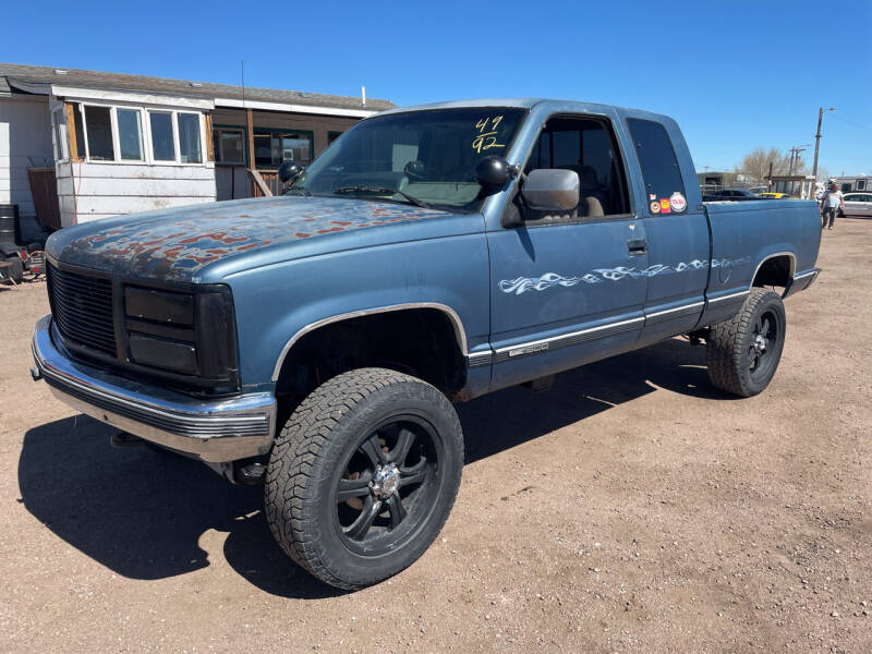 1992 GMC Sierra 1500 for sale at PYRAMID MOTORS - Fountain Lot in Fountain CO