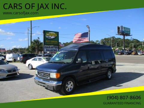 2005 Ford E-Series Cargo for sale at CARS OF JAX INC. in Jacksonville FL