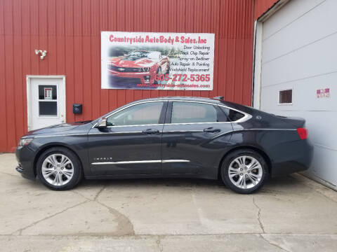 2015 Chevrolet Impala for sale at Countryside Auto Body & Sales, Inc in Gary SD