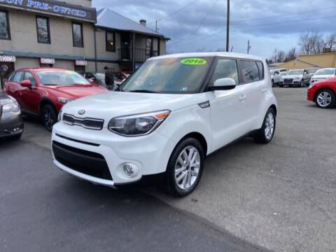 2018 Kia Soul for sale at Sisson Pre-Owned in Uniontown PA