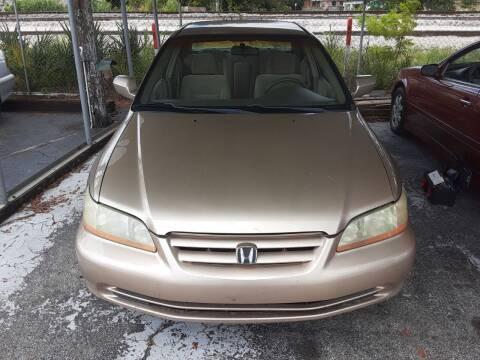 2002 Honda Accord for sale at Easy Credit Auto Sales in Cocoa FL