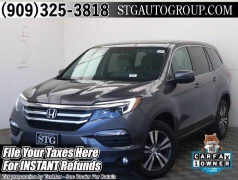 2018 Honda Pilot for sale at STG Auto Group in Montclair CA
